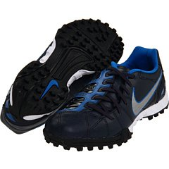 (Nike Junior Total 90 Shoot III TF Soccer Turf Shoe (2.5Y) Black)
