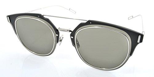 Dior Homme Composit 1.0 010 Palladium Composit 1.0 Round Sunglasses Lens - Dior Mens Homme