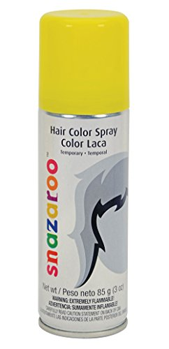 Snazaroo Hair Color Spray Yellow