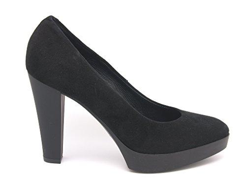 Carmens Caoutchouc Empeignes En Padova Daim Decoltè Femme Fond Cuir Chaussures fzafxnIr