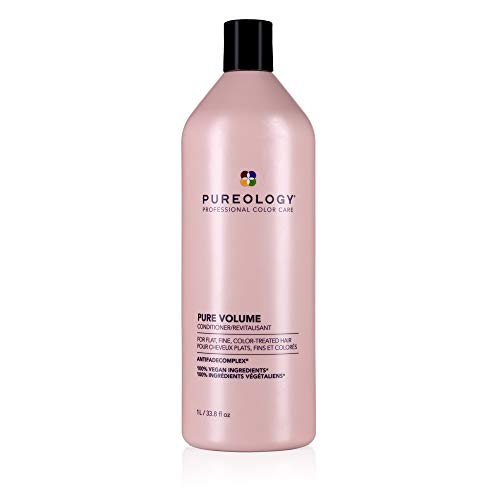 Pureology Pure Volume Conditioner   For Flat, Fine, Color-Treated Hair   Restores Volume & Movement   Sulfate-Free   Vegan 1