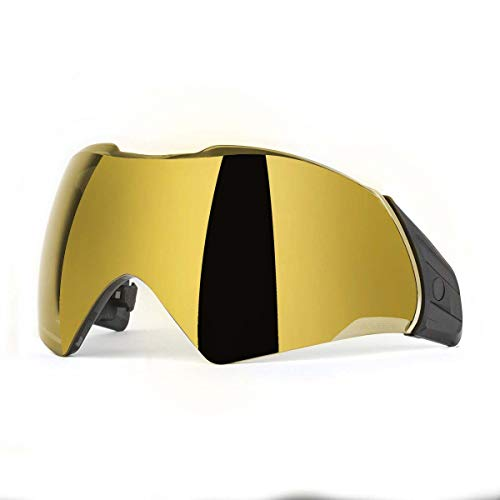 - Push Unite Thermal Paintball Goggle Lens - Chrome Gold