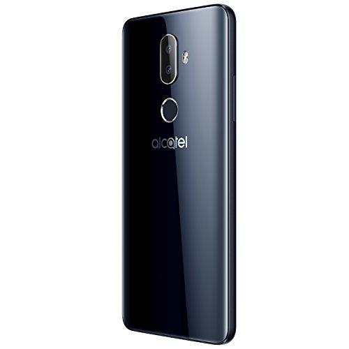 "Alcatel 3V Unlocked Smartphone (AT&T/T-Mobile) - 6"" 18:9 HD Display, 12MP Rear Dual Camera, Android 8.0 Oreo - Spectrum Black (U.S. Warranty)"