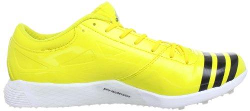 adidas Performance adizero TJ 2 Q34045 Unisex-Erwachsene Laufschuhe Gelb (Vivid Yellow S13 / Black 1 / Black 1)