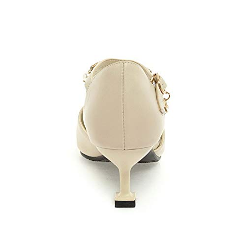 Sandales AdeeSu Compensées SDC05811 Femme Beige 8qqxw51r