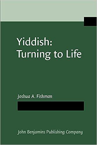 Yiddish: Turning to Life