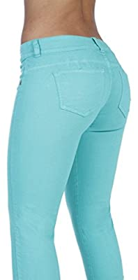 Curvify Stretch Butt Lifting Skinny Jeans | Pantalones Levantacola 600