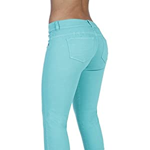Curvify Stretch Butt Lifting Skinny Jeans | Pantalones Levantacola 600