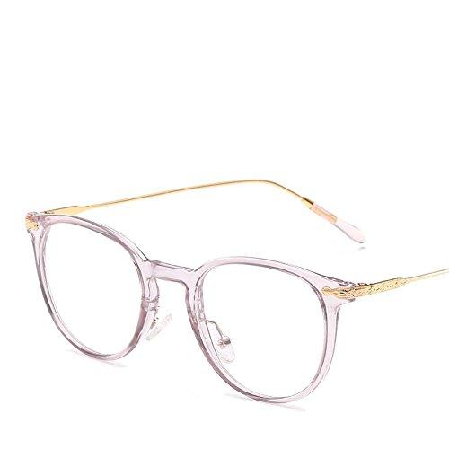 Axiba miopía Empareja Gafas creativos General de Gafas de Estudiantes con se Hombre Mujer Moda Marco Plano Regalos Espejo el Los A Puede de Sol de rI16rp