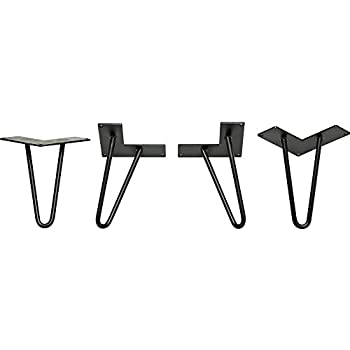 6 in I-Semble™ Hairpin Table Legs, 4-Pack