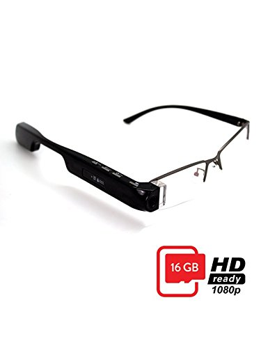 DigiOptix Smart Glasses for Android Smart Devices Bluetooth for headphones Audio Headsets, Best Action Camera, Take Calls, Sap Calls, Record Videos, Gesture Control DigiOptix, 16 GB by DigiOptix (Image #1)