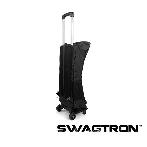 Swagway SwagTron T1 & T3 Rolling Carrying Case Backpack with Suitcase Handle and Wheels - Fits Swagway X1, X2, SwagTron T1 T3 and T5, and all generic Hoverboards