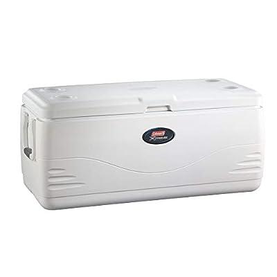 Coleman 3000002236 Cooler 150Qt Marine White Omld Tri