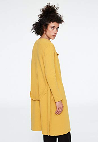 Mujer Mustard Normal Yellow Cárdigan Para Armedangels nBqZ8URZW