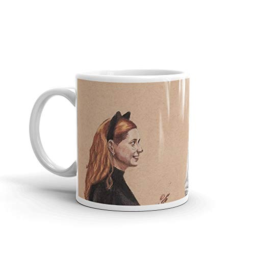 Halloween. 11 Oz Fine Ceramic Mug With Flawless Glaze Finish. 11 Oz Classic Coffee Mugs, C-handle And Ceramic -