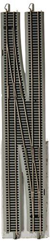 Bachmann Trains E-Z Command Dcc #6 Single Crossover Turnout-Left (1/Box)-Ho - Bachmann Decoder Ez Command