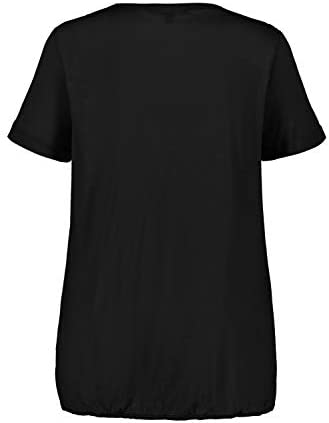 Ulla Popken 724732 koszulka damska w dużych rozmiarach: Ulla Popken: Odzież