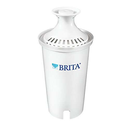 Brita Standard Replacement Filters for Pitchers and Dispensers - BPA Free - 1 Count