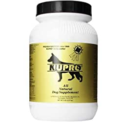 Image of the product NUPRO All Natural Dog that is listed on the catalogue brand of Nupro. This item has been rated with a 5.0 scores over 5