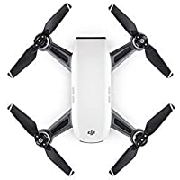 DJI Spark Portable Mini Drone Palm launch Quadcopter Alpine White with Holiday Gift Set