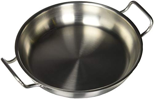 - Paderno Stainless Steel 11 Inch Paella Pan