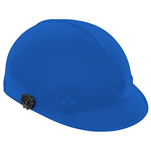 Jackson Safety C10 Bump Cap (20188) with Face Shield Attachment, Safety Hard Hat for Minor Bumps, Absorbent Brow Pad, 4-Pt. Suspension, Blue, 12 / Case