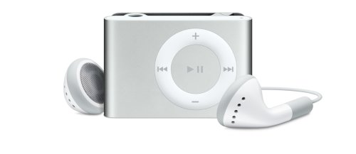 Apple iPod shuffle 1 GB Silver (2nd Generation)  (Discontinued by Manufacturer)