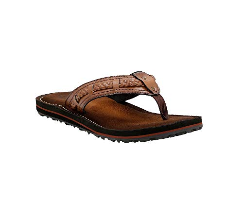 "CLARKS ""Fenner Nerice H Thong Sandals Honey 7 M"