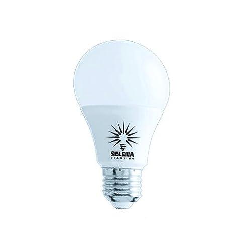 Selena bombilla LED E27 A60 12 W 220 V blanco cálido 2700 K 1050 lm/juego de 10/clase de eficiencia energética A + +: Amazon.es: Iluminación