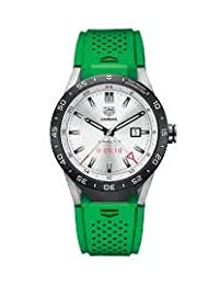 TAG Heuer CONNECTED Luxury Smart Watch (Android/iPhone) (Green Band)