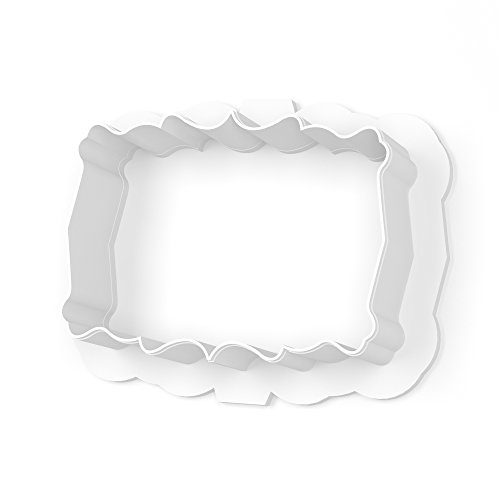 The Ivy Plaque Cookie Cutter - LARGE - 4 Inches