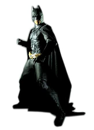 Batman Begins Batman Pre-Painted Figure 1/6 Scale  sc 1 st  Amazon.com : batman begins halloween costume  - Germanpascual.Com