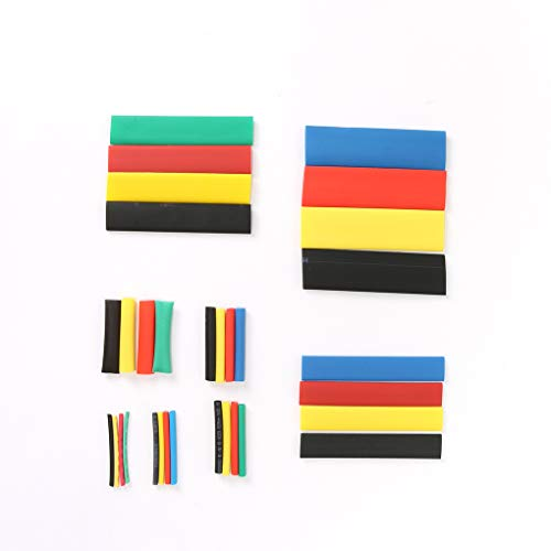 MuLuo 328pcs Colorful Heat Shrink Tubing Sleeving Wrap Cable Wire Tubes Set 8 Size
