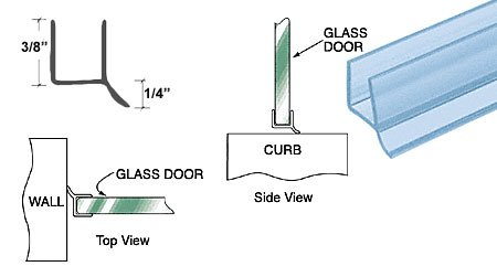 Dual Durometer Seal Wipe Glass