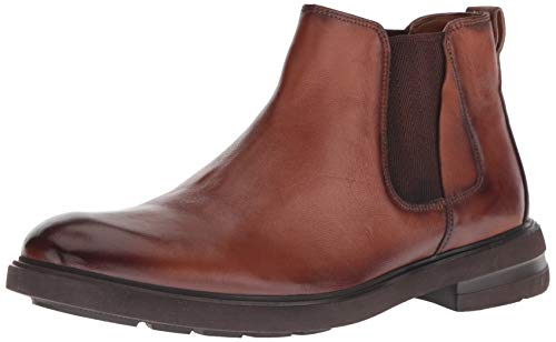 (Kenneth Cole New York Men's Tunnel Chelsea Boot Cognac 7.5 M US)