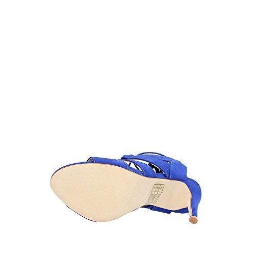 Steve Madden SANDALIA Sandale Femme Cuir Bleu 36