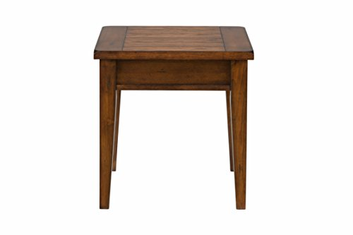Jofran 411-3, Dunbar, Square End Table, 23 W X 23 D X 23 H, Dunbar Oak Finish, Set of 1
