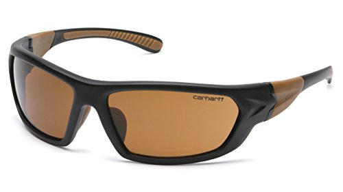 (Carhartt Carbondale Safety Sunglasses with Sandstone Bronze)