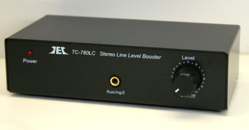 TCC TC-780LC Stereo Line Level Amp / Booster with iPod Jack; BLACK VERSION by Phono Preamps