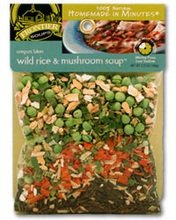 Frontier Soups Homemade In Minutes Oregon Lakes Wild Rice and Mushroom Soup, 3 Ounce -- 8 per case.
