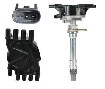 New Distributor for Chevrolet GMC Cadillac Isuzu Vortec V8 5.7 5.0 1996-2002 Complete Assembly by Parts Player (Distributor Assembly compare prices)