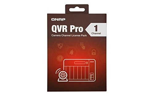 Qnap LIC-SW-QVRPRO-1CH 1 Channel license (QVR Pro Gold is required) by QNAP