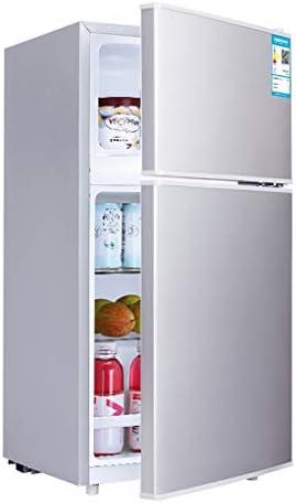 2ドア冷蔵庫自立型|フリーザー-21L冷蔵庫-37L |ミュート|ダブル温度制御、家庭用、オフィス用、キッチン用冷凍庫