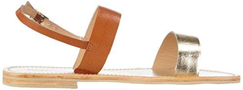 Sofie Schnoor sandal metallic leather Damen Offene Sandalen Gold (Gold)