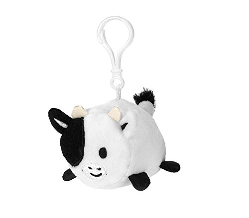 """Fiesta Toys Lil Huggy Keychains Cocoa Cow Stuffed Toy 3.5"""" A"""