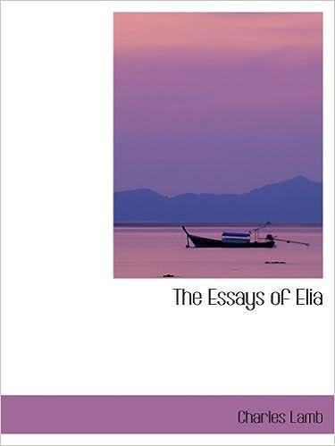 Book The Essays of Elia
