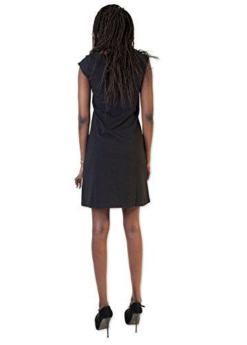 Coton du Monde–Vestido KANCHAN negro negro