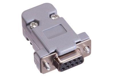 (ECore Cables 1100 DB9 Female Crimp Connector Kit - Plastic)