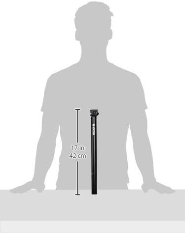 Black Beam Micro Seatpost 27.2 x 400 mm SDG Unisexs 07510 I
