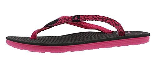 NIKE Girl's Women's Jordan Flip Flops GG Sandals Black/Vivid